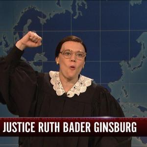 Weekend Update: Ruth Bader Ginsberg