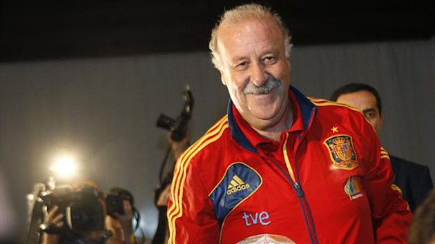 Spain's head coach Vicente del Bosque (Reuters)