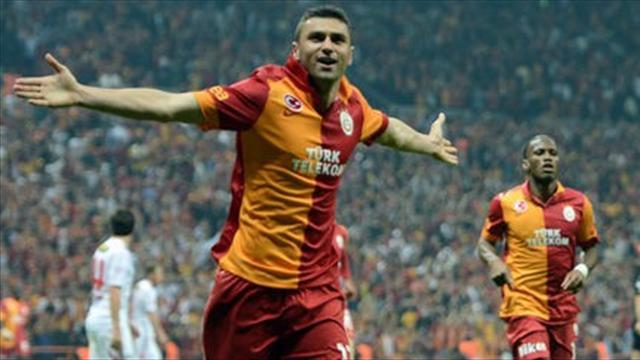 Serie A - Lazio deny offer for Galatasaray star Yilmaz