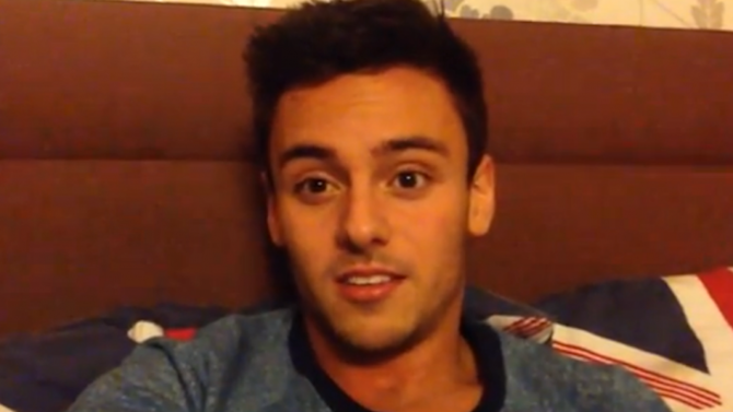 Olympic medallist Tom Daley comes out on YouTube