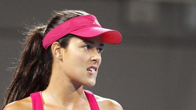 Tennis - Ivanovic forced to wait as rain hits Thailand