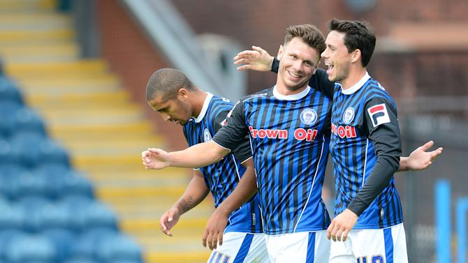 Soccer - Pre-Season Friendly - Rochdale v Blackburn Rovers - Spotlands