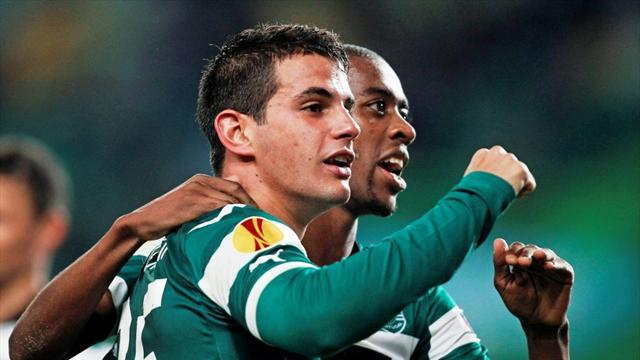 Europa League - Sporting exit on high with first win