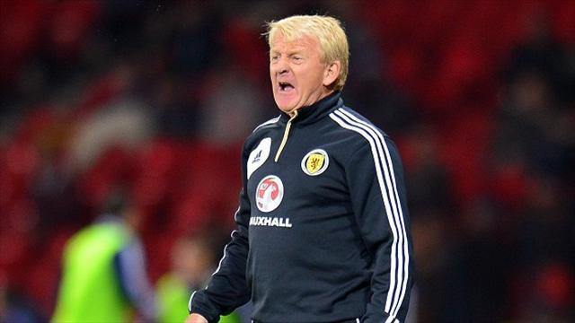 Football - Scotland line up Norway friendly