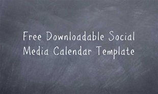 Control The Chaos With A Social Media Calendar (Free Template) image Free Downloadable Social Media Calendar Template1