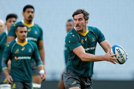 Australia Rugby Union - Australia's Captain's Run - Stade de France, Saint-Denis near Paris