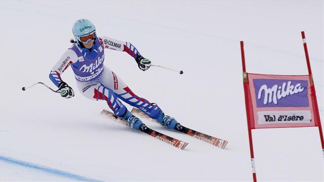Alpine Skiing - Marchand-Arvier fastest in second Val d'Isere training run