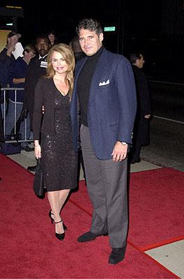 Premiere: Roma Downey and Michael Nouri at the Beverly Hills premiere of Columbia's Finding Forrester - 12/1/2000