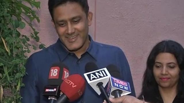 Great honour to be back in Indian dressing room in a different role: Kumble
