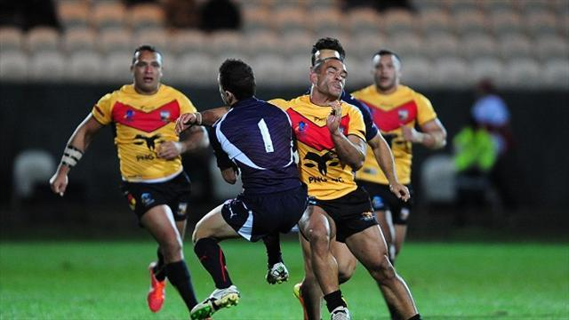 """Rugby League - PNG and Samoa """"desperate"""" for win"""