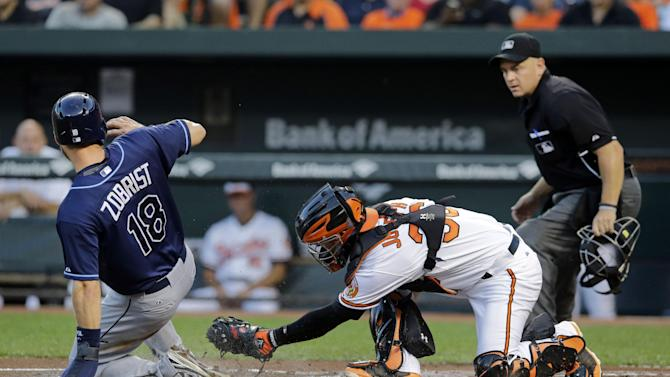 Smyly leads Rays over Orioles 3-1