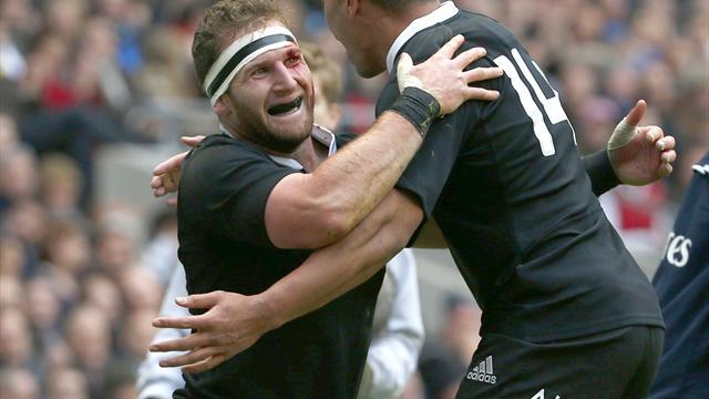 Rugby - New Zealand duo nominated for world player of the year