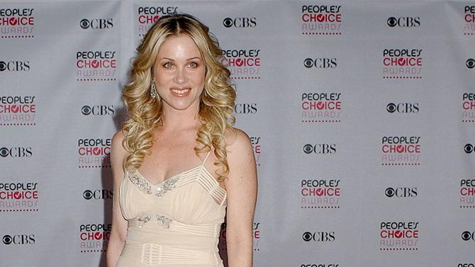 Christina Applegate at The 33rd Annual People's Choice Awards.