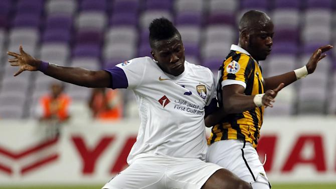 Asian Football - Gyan says he was racially abused in Champions League semi