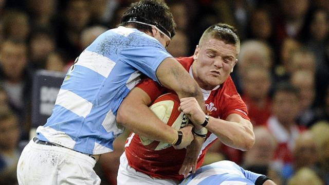 Rugby - Wales outclassed by Argentina in Cardiff