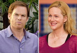Michael C. Hall, Laura Linney | Photo Credits: Randy Tepper/Showtime; Showtime
