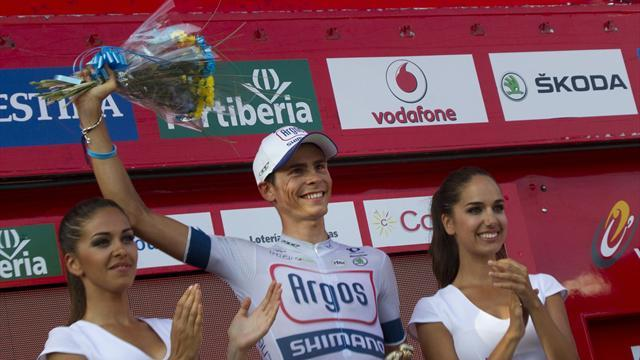 Vuelta a España - Barguil wins stage 13, Nibali keeps lead