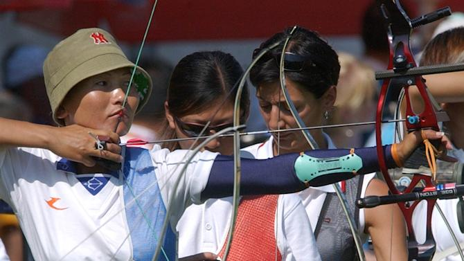 Olympic Games 2004 - Archery - Tshering Chhoden - Athens