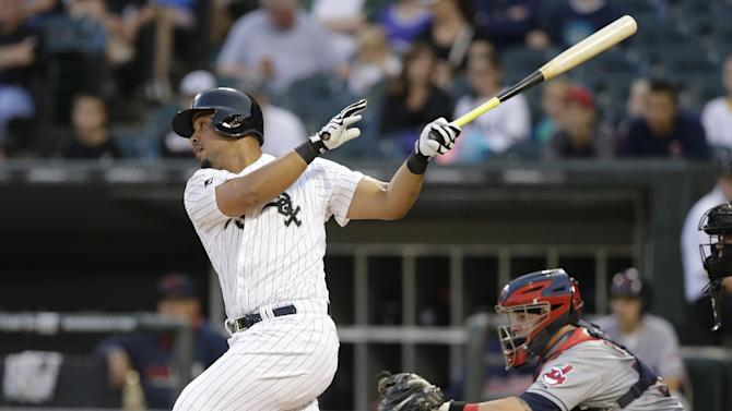 White Sox beat Indians 3-2, end 7-game skid