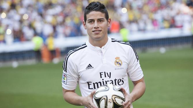 Liga - James: I'll earn my place at Real Madrid