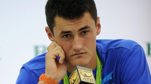 Davis Cup - Australia drop troubled Tomic from Davis Cup team