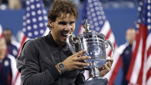US Open - Nadal crowns his 'most emotional season' ever