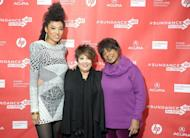 """L-R: Singers Judith Hill, Tata Vega and Merry Clayton attend the """"Twenty Feet From Stardom"""" premiere during the 2013 Sundance Film Festival at Eccles Center Theatre on January 17, 2013 in Park City, Utah. The film showcases the lives of a series of mostly African American back-up singers whose voices are familiar but whose faces and names are barely known"""