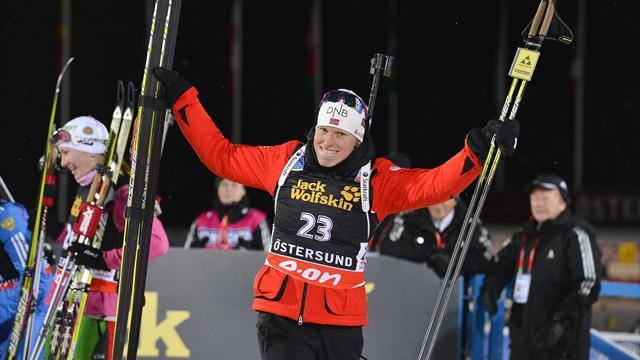 Biathlon - Berger opens season with Oestersund win