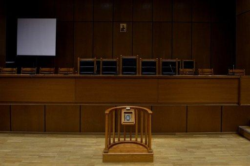 An empty courthouse is pictured at the supreme court in Athens in September 2012. A tug-of-war between executive and judicial authorities has come to the fore after complaints by the government over adverse rulings that could affect the country's reforms, which are a condition of bankruptcy-saving EU-IMF loans.
