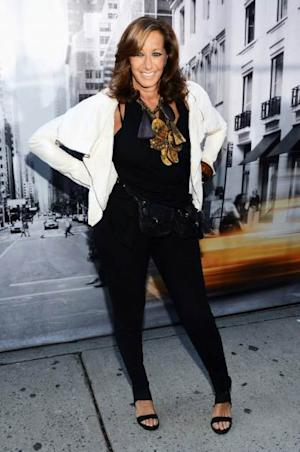 Designer Donna Karan attends the DKNY Women's Spring 2013 fashion show during Mercedes-Benz Fashion Week at 547 W 26th Street on September 9, 2012 in New York City.  -- Getty Images