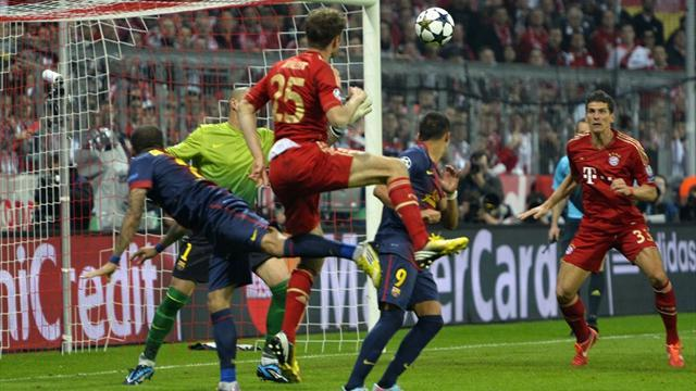 Champions League - Barca coach disputes two Bayern goals
