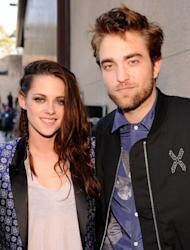 Kristen Stewart and Robert Pattinson are seen at the 2012 Teen Choice Awards at Gibson Amphitheatre in Universal City, Calif. on July 22, 2012 -- Getty Premium