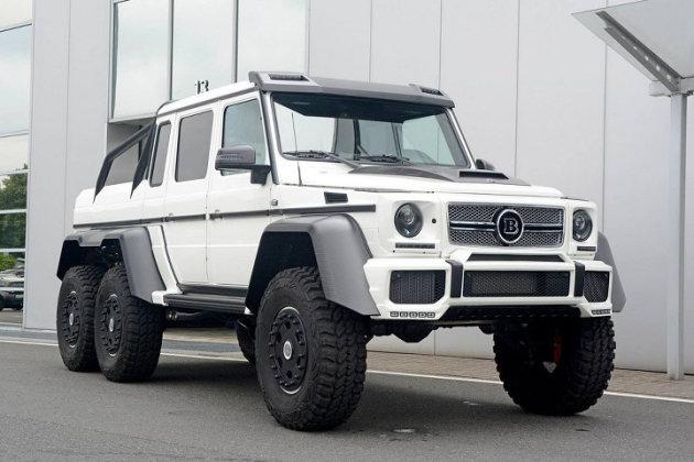Mercedes-Benz G63 6x6 Brabus Edition photo