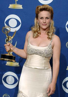 "Patricia Arquette, winner - Outstanding Lead Actress in a Drama Series for ""Medium"" 57th Annual Emmy Awards Press Room - 9/18/2005"