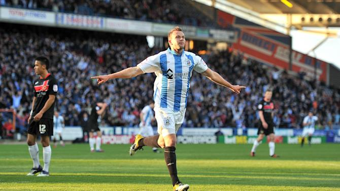 Jordan Rhodes has been linked with a move away from Huddersfield