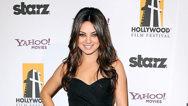 Kunis Mila Hllywd Movie Aw