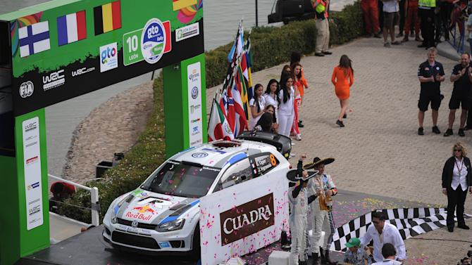FIA World Rally Championship Mexico - Day Three