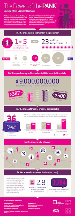 Would You Like 23 Million Product Ambassadors? image Power of the PANK infographic5