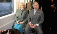 Prince Charles Takes Rare Tube Journey