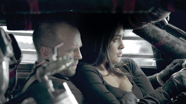 Jason Statham Natalie Martinez Death Race Production Stills Universal 2008