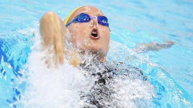 Swimming - Russian swimmer Moskvina handed one-year doping ban