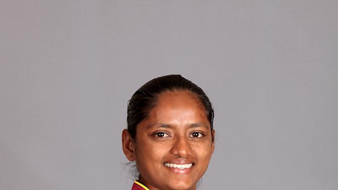 West Indies Portrait Session - ICC Women's World Cup India 2013