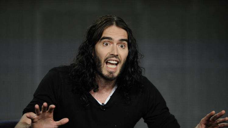 Russell Brand at the FX TCA Winter Press Tour Sunday, Jan. 15 in Pasadena California. BrandX with Russell Brand