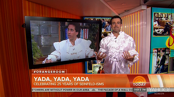 Carson Daly's 'Seinfeld' Puffy Shirt Tribute