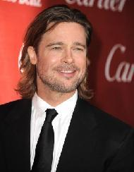 Brad Pitt attends the 2012 Palm Springs Film Festival Awards Gala at Palm Springs Convention Center on January 7, 2012  -- WireImage