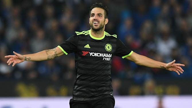 'When I don't play I'm sad' - Fabregas airs frustration over Chelsea game time