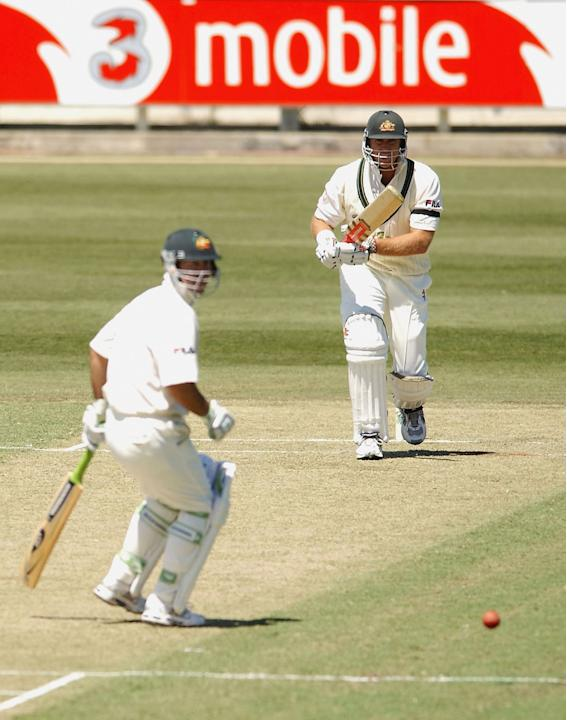 Matthew Hayden of Australia hits out