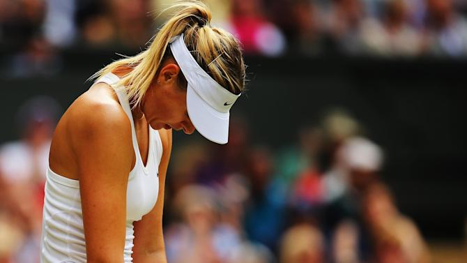 Wimbledon - Kerber shocks Sharapova