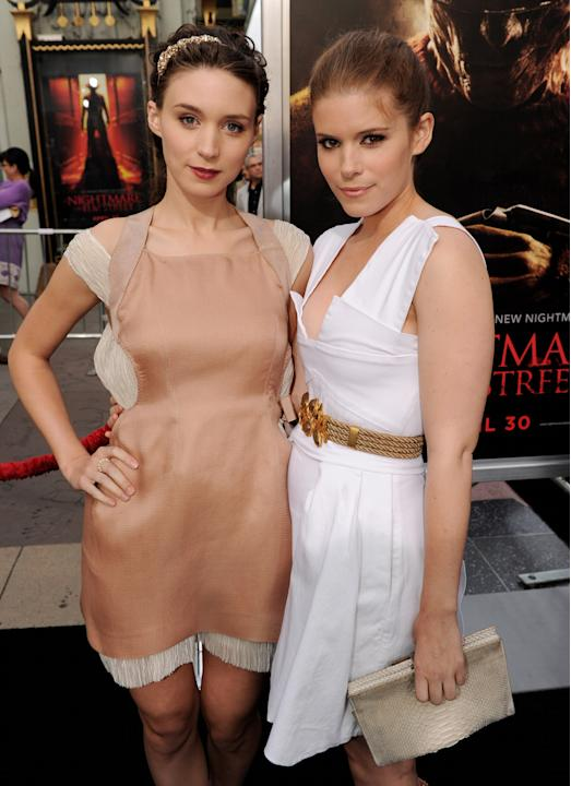 Rooney and her sister Kate Mara