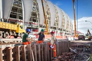 World Cup stadium might not be ready, says Brazilian mayor